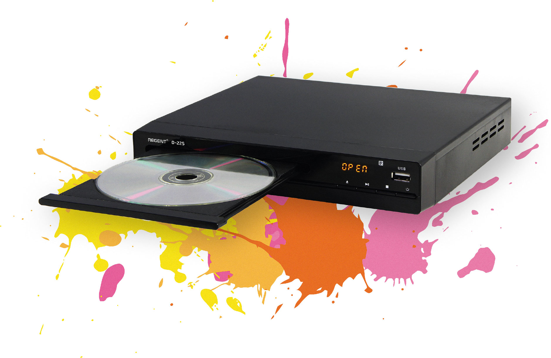 Regent DVD D-225